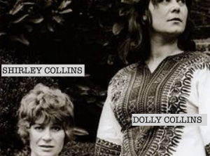 Folk singers Shirley and Dolly Collins